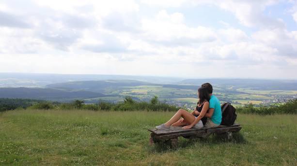 Gratwanderung im Teutoburger Wald