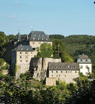 Unterwegs auf der Burgenroute