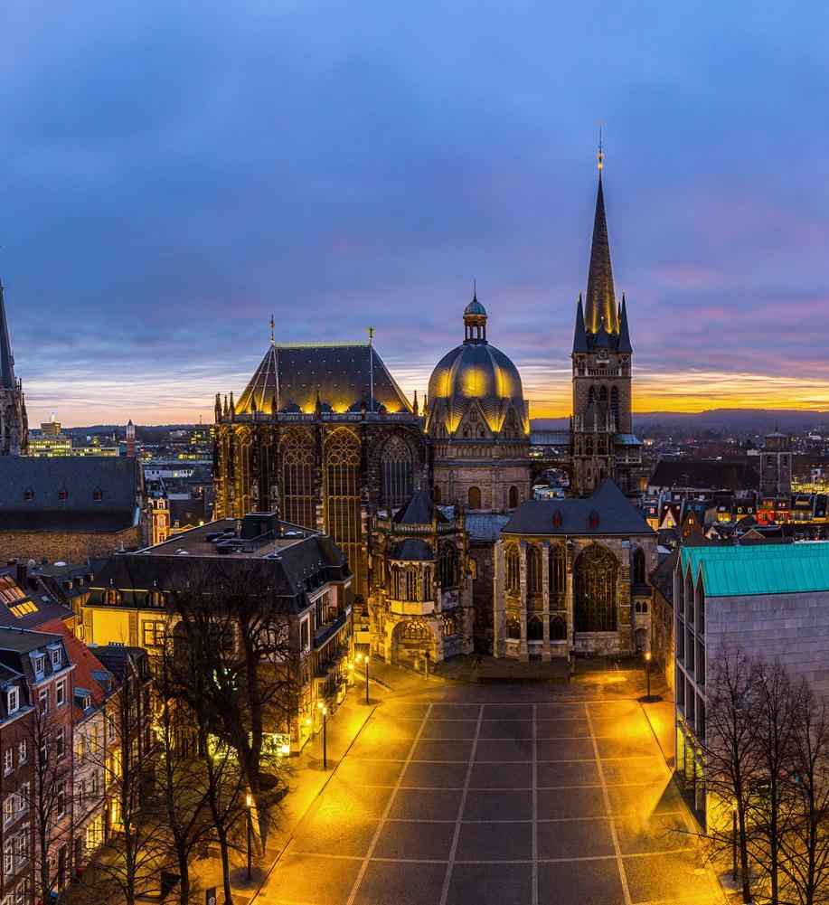 Aachen – die Lieblingspfalz des Kaisers