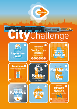 mobil.nrw CityChallenge Städtereisen NRW