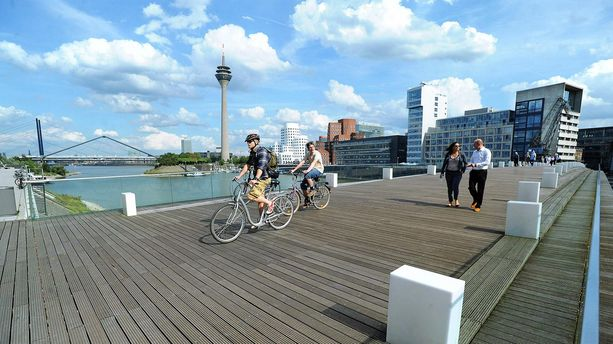 Radtour, Düsseldorf