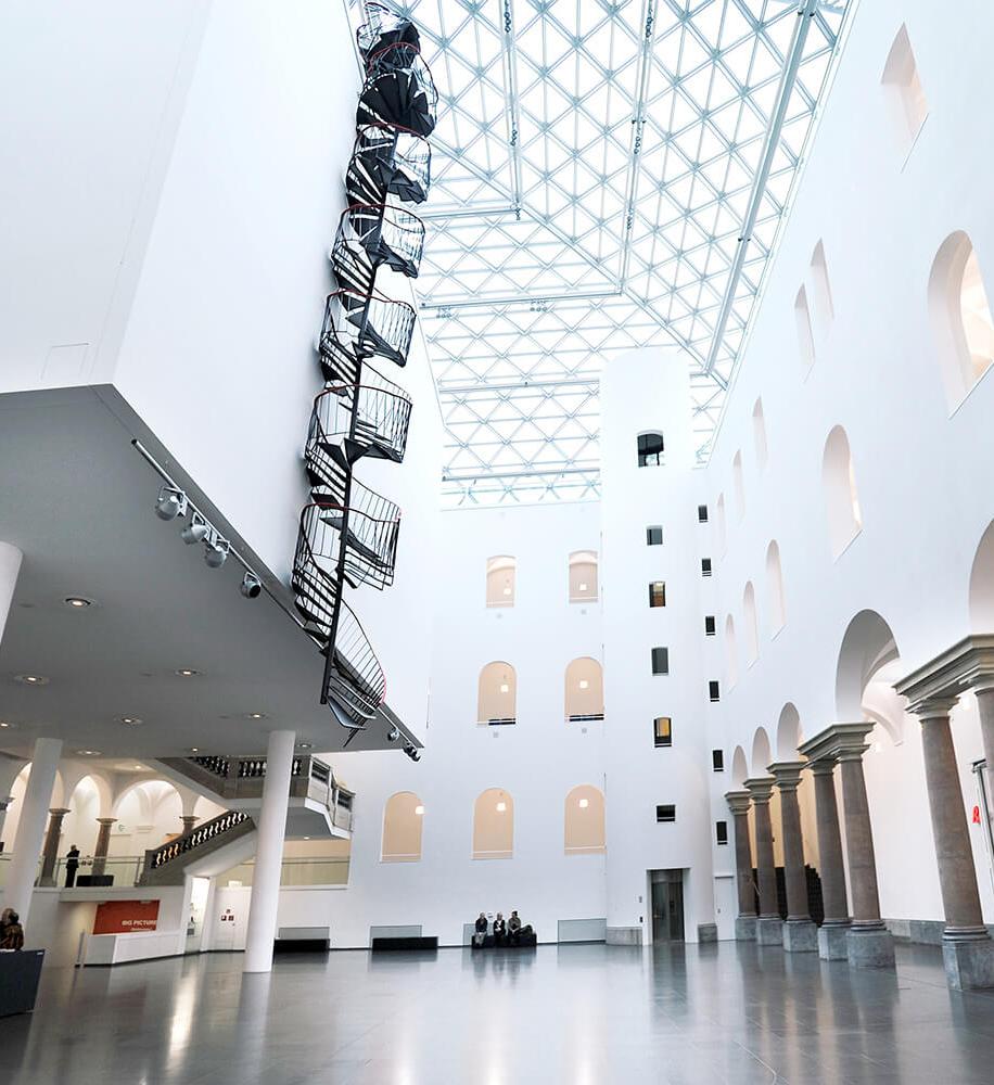 Museumslandschaft in Düsseldorf