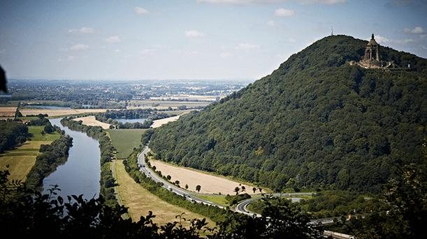 Unterwegs auf dem Weserberglandweg