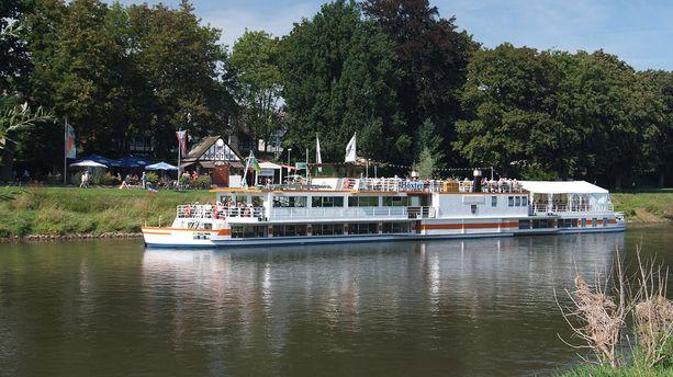 Dampferfahrten auf der Weser, Höxter